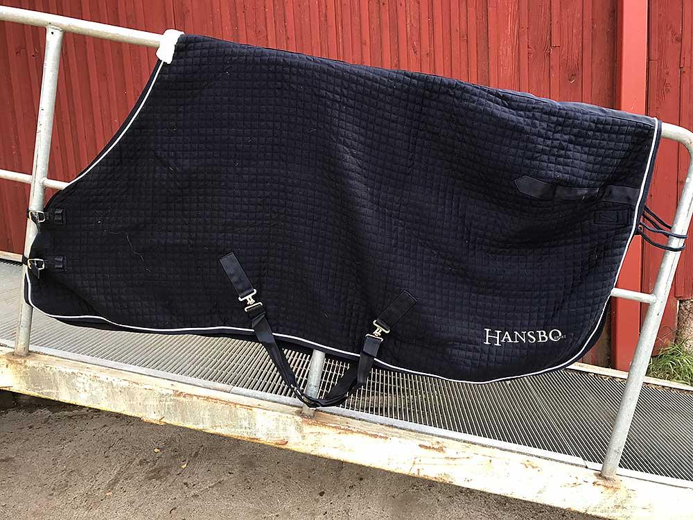 Fint kombitäcke Hansbo 155 cm NYSKICK