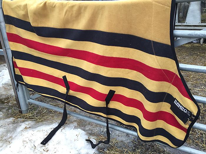 Horseware Rambo Deluxe fleece 145 cm