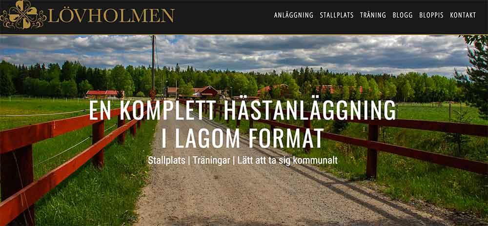 Välkommen till ny webbsida och ny blogg!