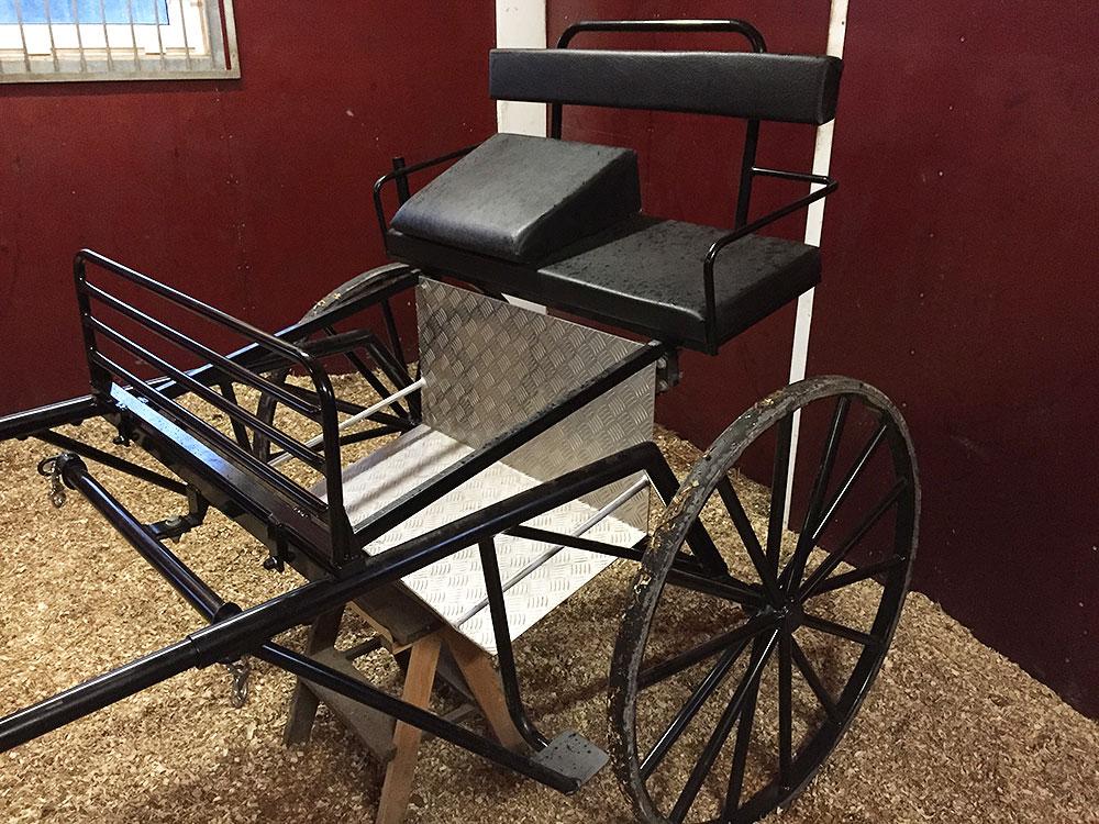 Rockard/vagn till stor häst